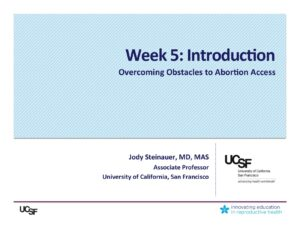Week 5- Intro (Steinauer)
