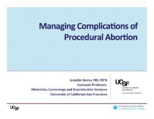 Week4- Complications, Parts 1, 2, 3, (Kerns)