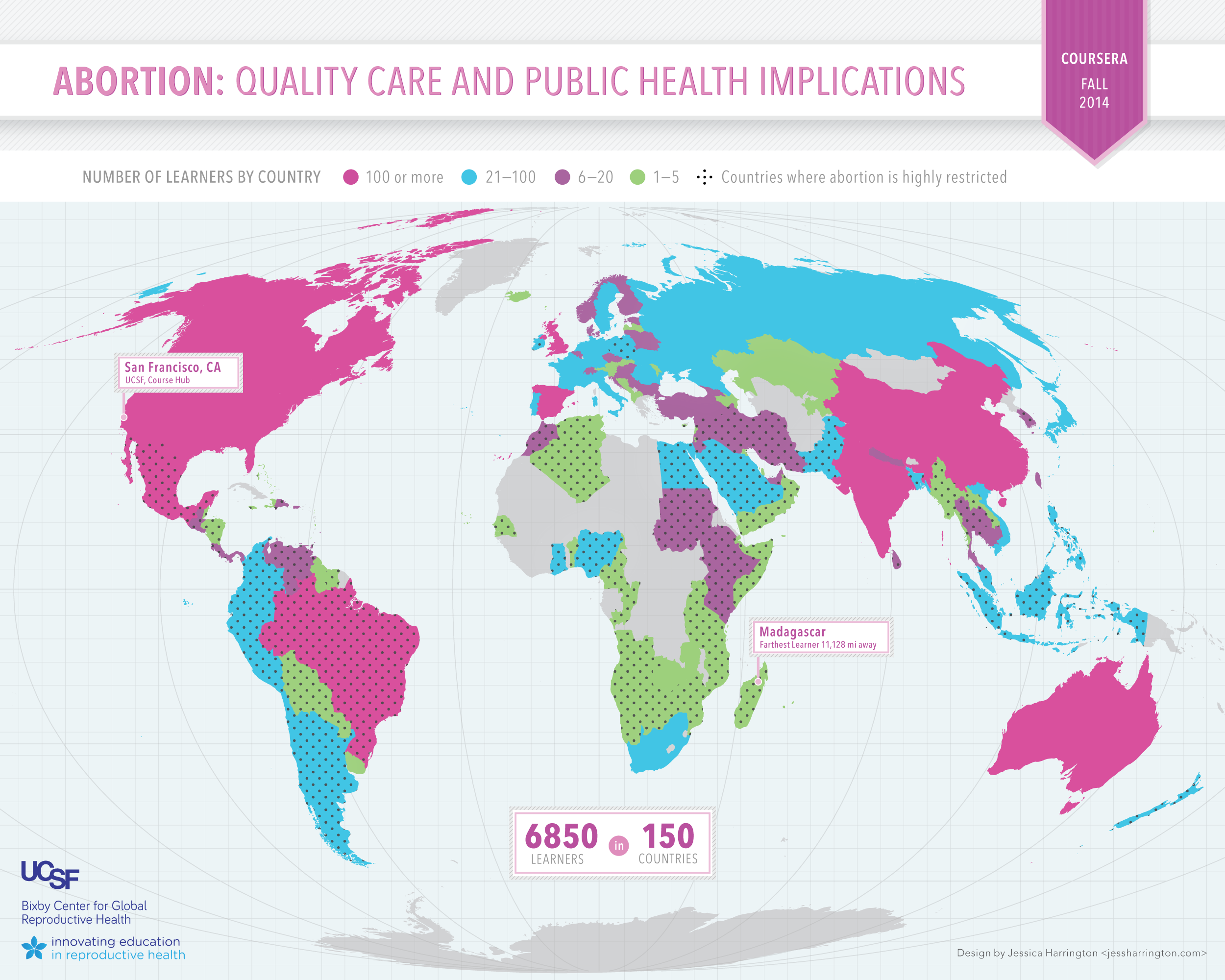 Coursera 2014 Map Innovating Education in Reproductive Health