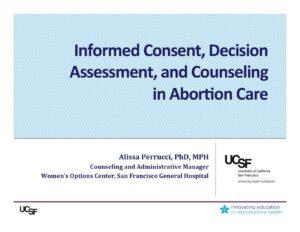 Week 2- Consent (Perrucci)
