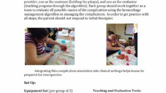 Abortion-related hemorrhage management